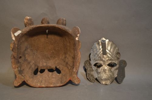 5 AFRICAN AND ASIAN MASKS - 5