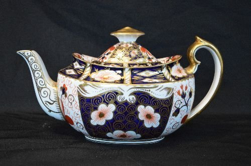 ROYAL CROWN DERBY FOR TIFFANY PORCELAIN LUNCHEON SET - 2