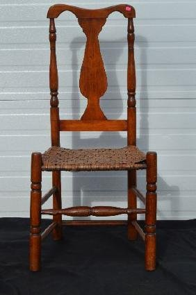 BANNISTER BACK ANTIQUE CHAIR