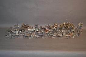 "40+ COLLECTIBLE PEWTER FIGURINES 5"" AND SMALLER"
