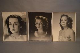 3 VINTAGE PHILIPPE HALSMAN PHOTOGRAPHS OF HELEN