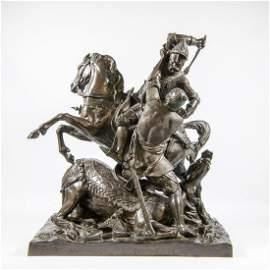 Théodore GECHTER (1796-1844) - Charles Martel vs.