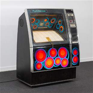 An AMI Black magic Jukebox, 1978, Model R82