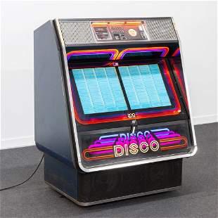 An AMI Disco Jukebox, 1978, Model R84