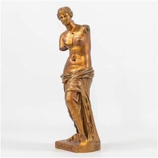 Salvador DALI (1904-1989) a bronze statue of 'Venus of