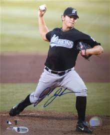 Josh Johnson Signed Photo