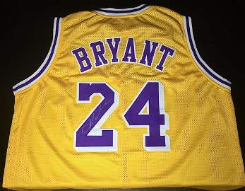 Kobe Bryant AUTOGRAPHED Jersey!!