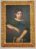 Rembrandt Harmerszoon van Rijn School Portrait Girl