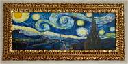 Vincent Van Gogh Oil on Canvas, Framed, Signed & Sealed