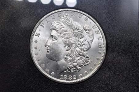 1882 Carson City Morgan Silver Dollar
