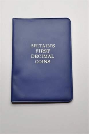 Britian's First Decimal Coin Set