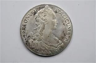 1918 R ITALIAN ERITREA EMMANUEL III Talero Coin