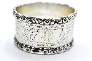 WHS Sterling Silver Napkin Ring