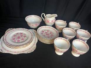 Royal Tuscan Bone China Tea Set.
