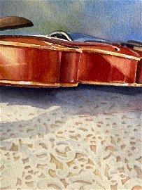 Trish Beckham, Untitled Violin