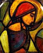 Anthony M. Quinn (1915-2001) La Femme Ideale