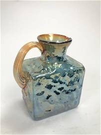 Vintage Carnival Glass Small Pitcher