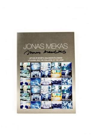 DVD film by Jonas Mekas with his autograph