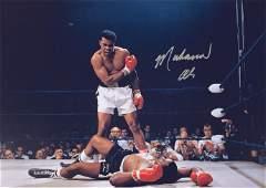 Boxing Muhammad Ali Autographed Signed