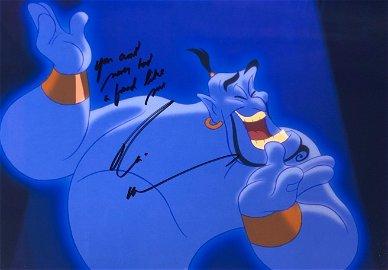 Aladdin Robin Williams Signed Photo