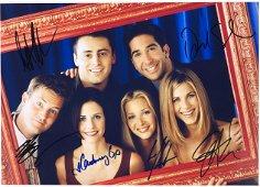 Friends Jennifer Aniston Signed Photo