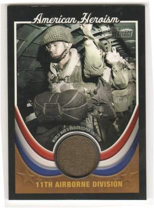WORLD WAR II 11TH AIRBORNE WORN PARATROOPER UNIFORM