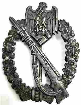 GERMAN INFANTRY ASSAULT BADGE AWARD ZING BY FZS SS - WH
