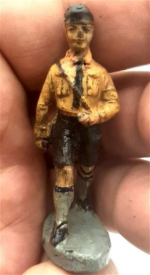 GERMAN HITLER YOUTH FIGURINE TOY GERMANY HITLERJUGEND