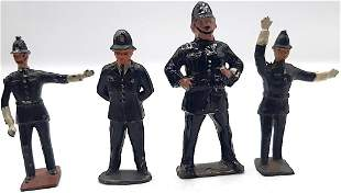 British Hollowcast Bobbies and Policemen police toy