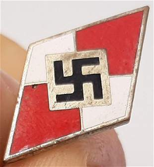 WW2 HITLER YOUTH HJ HITLERJUGEND KNIFE PIN BY RZM