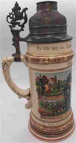 GERMAN PRE PANZER GROSSDEUTSCHLAND REGIMENT WW1 BEER