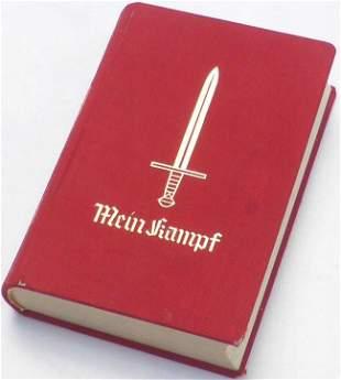 ADOLF HITLER MEIN KAMPF ANNIVERSARY EDITION 1939 SIGNED