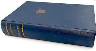 1937 NAZI EDITION ADOLF HITLER'S MEIN KAMPF BOOK