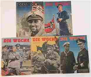 LOT 5 DIE WOCHE THIRD REICH WW2 WAFFEN SS PANZER LAH