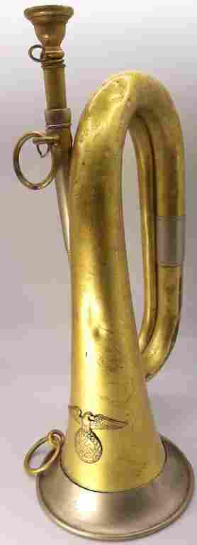SA / HJ HITLER YOUTH BUGLE III REICH MUSICAL INSTRUMENT