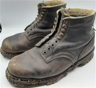 GEBIRGSJAGER ANKLE BOOTS MOUNTAIN TROOPS WAFFEN SS HEER