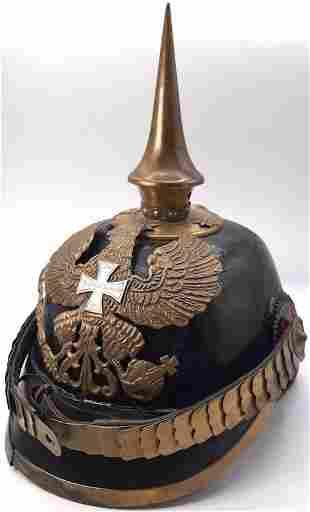 IMPERIAL WW1 GERMAN PRUSSIAN OFFICER PICKELHAUBE SPIKE