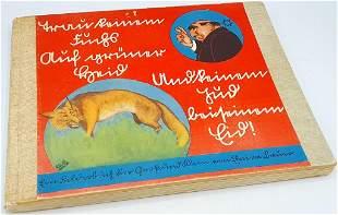 Trust No Fox on his Green... STURMER ANTI JEWISH BOOK
