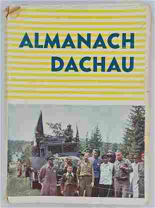 CONCENTRATION CAMP DACHAU LIBERATION ALMANACH BOOK RARE