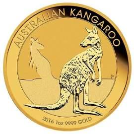 1oz gold $100 Australian kangaroo coin