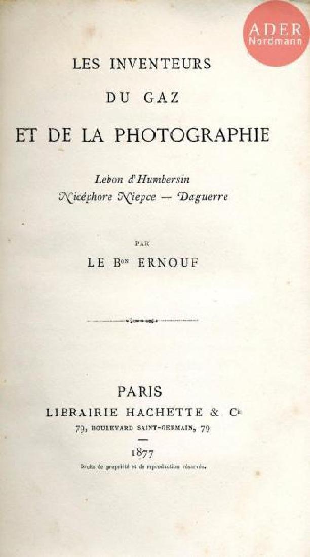 DAGUERRE - NIEPCE - LEBON D'HUMBERSIN Les…