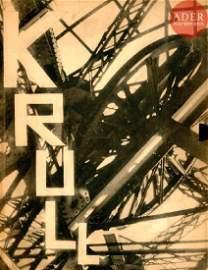 KRULL, GERMAINE (1897-1985) Métal. A. Calavas,…