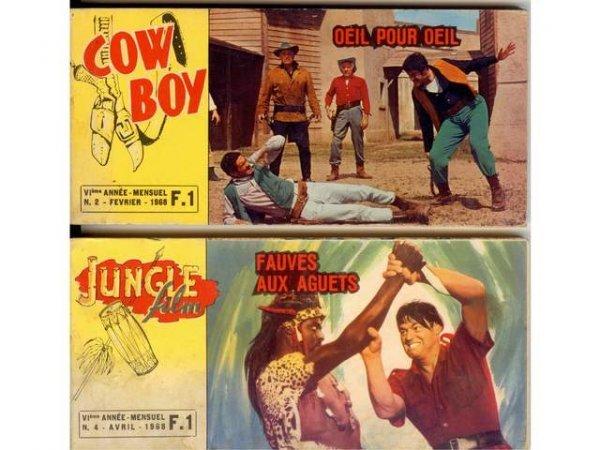 8: Ciné romans Western.