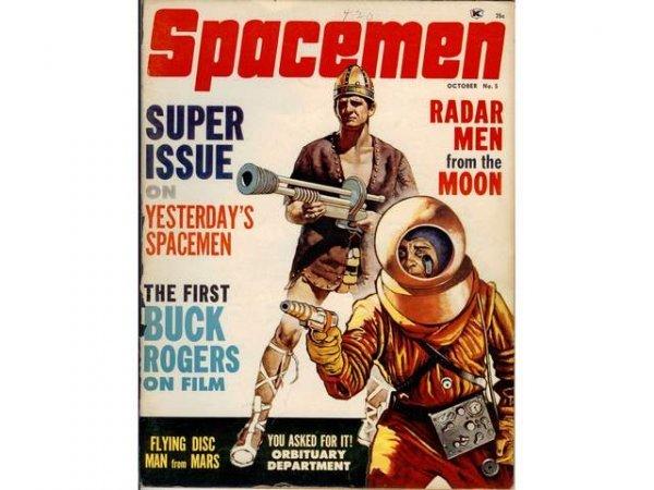 10: Science Fiction. Spacemen Magazine de Forrest J. A