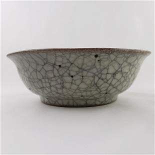 Song Crackle Ru Ware Bowl