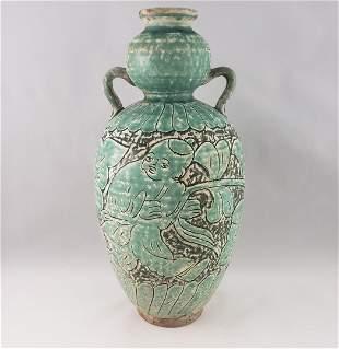 Northern Song Rare Green Vase