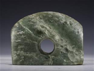 A CHINESE PALE CELADON JADE WARE