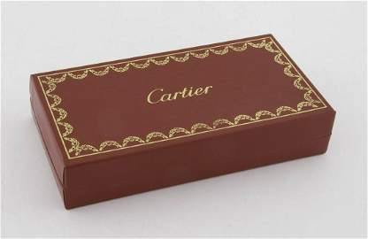Cartier Boxed Sterling Silver Salt and Pepper Shakers