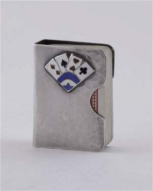 Clemens Friedell Miniature Deck of Playing Cards in