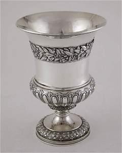 Handsome Paul Storr Sterling Silver Goblet, London